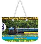 Konkan Railway Recruitment Weekender Tote Bag