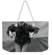 Koo Koo The Bird Girl Front Weekender Tote Bag