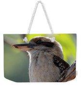 Kookaburra On A Branch Weekender Tote Bag