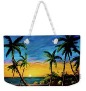 Ko'olina Sunset On The West Side Of Oahu Hawaii #299 Weekender Tote Bag