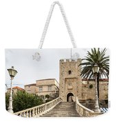 Korcula Old Town Stairs Weekender Tote Bag