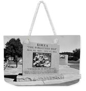 Korea The Forgotten War  Weekender Tote Bag