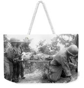 Korean War, 1952 Weekender Tote Bag