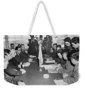 Korean War, 1953 Weekender Tote Bag