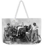 Korean War Artillerymen Weekender Tote Bag
