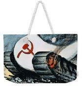 Korean War: Cartoon, 1950 Weekender Tote Bag