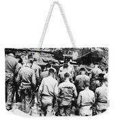 Korean War: Church Service Weekender Tote Bag