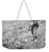 Korean War: Foxhole, 1951 Weekender Tote Bag