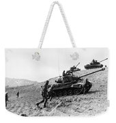 Korean War: Infantrymen Weekender Tote Bag