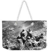 Korean War: Machine Gun Weekender Tote Bag