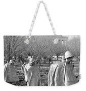 Korean War Memorial Weekender Tote Bag
