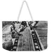 Korean War: Napalm Raid Weekender Tote Bag