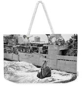Korean War: Navy Mailbag Weekender Tote Bag