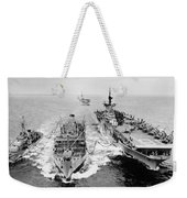 Korean War: Ship Refueling Weekender Tote Bag