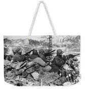 Korean War: Soldiers Weekender Tote Bag