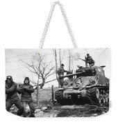Korean War: Tank, 1951 Weekender Tote Bag