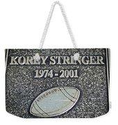 Korey Stringer Tribute Weekender Tote Bag