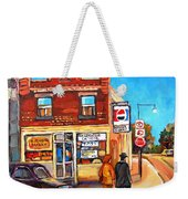 Kosher Bakery On Hutchison Weekender Tote Bag