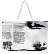 Mv Krait Historical Information Weekender Tote Bag