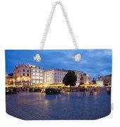 Krakow Main Square By Night Weekender Tote Bag