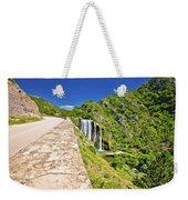 Krcic Waterfall In Knin Scenic View Weekender Tote Bag