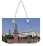 Kremlin Wall Panorama Weekender Tote Bag