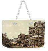 Krestchatik Street In Kiev - Ukraine - Ca 1900 Weekender Tote Bag