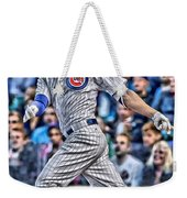 Kris Bryant Chicago Cubs Weekender Tote Bag