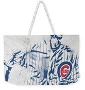 kris bryant CHICAGO CUBS PIXEL ART 2 Weekender Tote Bag