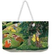 Krishna Fluting The The Milkmaids Weekender Tote Bag