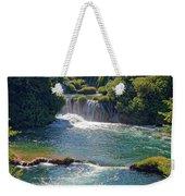Krka National Park Waterfalls 5 Weekender Tote Bag