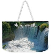 Krka National Park Waterfalls Weekender Tote Bag