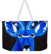 Kudu Blue Weekender Tote Bag