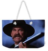Kurt Russell As Wyatt Earp  In Tombstone 1993 Weekender Tote Bag