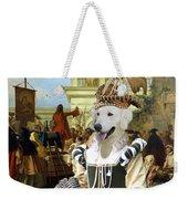 Kuvasz Art Canvas Print - The Charlatan Weekender Tote Bag