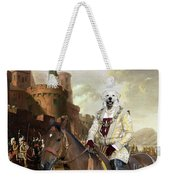 Kuvasz Art Canvas Print - The Enchanted Forest Weekender Tote Bag