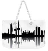 Kuwait Skyline Weekender Tote Bag