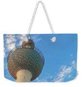 Kuwait Towers Weekender Tote Bag