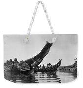 Kwakiutl Canoes, C1914 Weekender Tote Bag by Granger