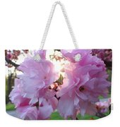 Kwanzan Cherry Blossom Weekender Tote Bag