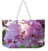 Kwanzan Cherry Blossoms Weekender Tote Bag