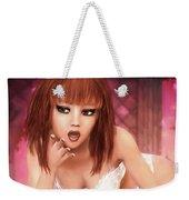 Kylie - Cute And Sassy - Fantasy Painting Weekender Tote Bag