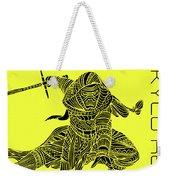 Kylo Ren - Star Wars Art - Yellow Weekender Tote Bag