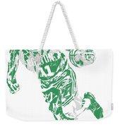 Kyrie Irving Boston Celtics Pixel Art 9 Weekender Tote Bag