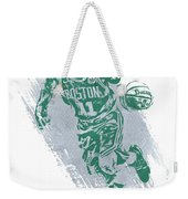Kyrie Irving Boston Celtics Water Color Art 2 Weekender Tote Bag