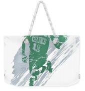 Kyrie Irving Boston Celtics Water Color Art 4 Weekender Tote Bag