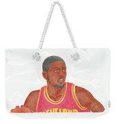 Kyrie Irving Weekender Tote Bag by Toni Jaso