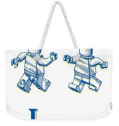 L Is For Lego Weekender Tote Bag