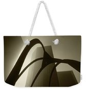 La Abstract Bw Weekender Tote Bag