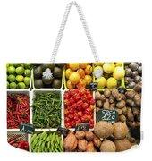La Boqueria Produce Weekender Tote Bag